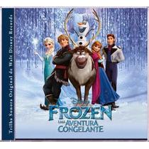 Cd Uma Aventura Congelante Disney Trilha Sonora Frozem