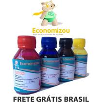 400ml Tinta Sublimática Cores Vivas S/entupir Frete Grátis!!