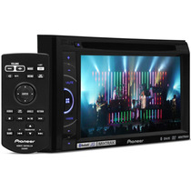 Double Din Pioneer Dvd 2680bt 6,1 Usb Mp3 Bluetooth 2680