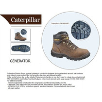 Botas Caterpillar - Cat Generator-6 Steeltoe (marrón)