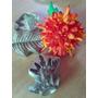 Estrella Federal Y Sepalo Frizador Para Flor En Tela O G.eva