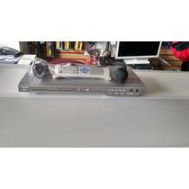 Dvd Player Cce C/ Usb- Dvd-615dvx Prata C\karaoke