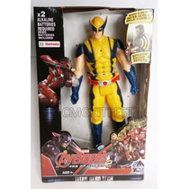 Boneco Articulável Avengers Vingadores Wolverine 30cm