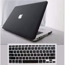 Capa Hard Case Macbook Air 13+protetor Teclado Preto Fosco