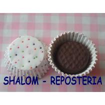 *capacillos Chicos Mini Mamut Mod 3, Cupcake Minnie Fondant*