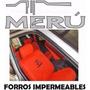 Forros Impermeables Para Toyota Meru Color Naranja