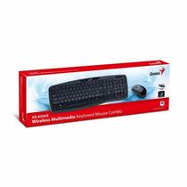 Combo Teclado+mouse Genius Kb-8000x Wireless Pc