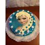 Torta Frozen Princesa Elsa Totalmente Personalizada