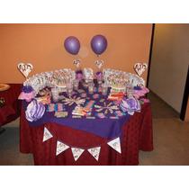 Mesa De Candy Bar Tematica 30 Chicos Ambientacion De Eventos
