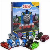 Libro Juego Tren Thomas Y Amigos Con Alfombra Y Personajes