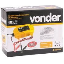 Carregador Bateria Automotivo 12v 45-100ah Cib100 127 Vonder