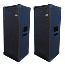 Par Caixas 2x12 Tree Way Nhl Passivas (350+350) 700w Woofer