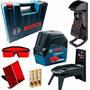 Nivel Laser Esquadro Prumo 2x1 Gcl 2-15 Bosch Suporte Maleta