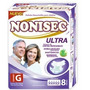 Pañales Nonisec Ultra Adulto Gde X 80 Uds