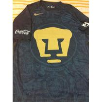 Pumas Unam Talla Large Nike Jersey Azul Visita 2016-2017