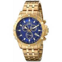 Relógio Invicta 17504 Specialty Banhado A Ouro 18k
