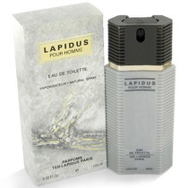 Perfume Ted Lapidus Pour Homme 100ml - 100% Original