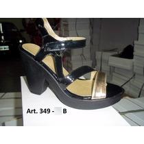 Sandalias Con Plataforma Combinadas - La Diosa Shoes