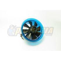 Turbina Edf 70mm 3800kv Com Motor Para Jato Zagi Aero