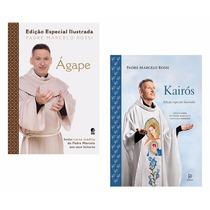 Kit Livros - Ágape E Kairós (edição Especial Ilustrada) !