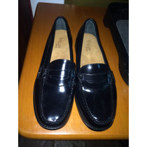 Mocasines Negros Bass Originales Talla 39