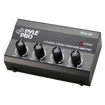 Pyle Pro Pha40 Amplificador De Audifonos Mejor Q Behringer