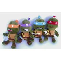 Kit Tartarugas Ninjas 4 Peças Atacado