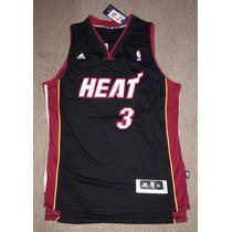 Camiseta Adidas Miami Heat Wade Talle Xl Nba Basketball