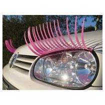 Cílios Postiços Para Carros Rosa Lindo Demais!!!!