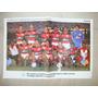 Poster Flamengo Campeão 1984 - Autografado Pelo Adilio