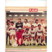 Ríver: Campeão Piauiense 1989 - Pôster Da Placar