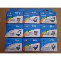 Cartuchos Compatibles Para Hewlett Packard 21 / 22 Xl