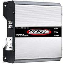 Módulo Amplificador Soundigital Sd-1200 1200w Rms + Frete
