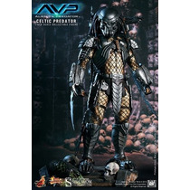 Hot Toys Predador Alien Vs Predator Avp Celtic Predator