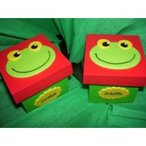 Cajitas Souvenirs Sapo Pepe!!! X 10 Unidades