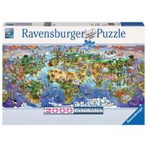 Rompecabezas Ravensburger 2000 Piezas Maravillas Del Mundo