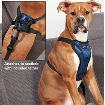 Pechera De Seguridad Para Auto Solvit Grande Paseo Perro