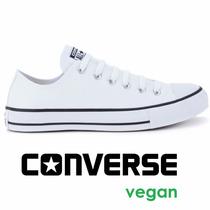 Tênis Converse All-star Malden Vegan Couro Sintético Branco