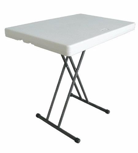 Mesa de servicio plegable rectangular 75cm msi env o for Mesa plegable mercado libre