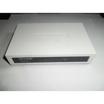 Switch Tp-link 5 Puertos 10/100 Mbps Desktop,md. Tl-sf1005d