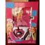 Diario Magico Y Lampara Secreta Rock Star Barbie Original