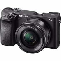 Sony A6300 +16-50mm 4k Nota Fiscal+ 2 Anos Garantia Brasil]