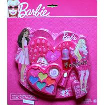 Juguete Set De Maquillaje Y Uñas Barbie Niña Colores Pastele