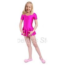 Mallas Ballet Con Falda Infantil