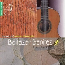 Baltazar Benitez Music Of Piazzolla Cd Clasica Guitarra Mp0