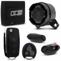 Alarme Para Carro Olimpus Premium Controle + Chave Canivete
