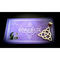 Dije Talisman Triqueta Charmed Mawiluz Wicca Celta Bruja
