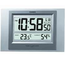 Relogio Casio Id16 Parede Mesa Sensor Temperatura / Umidade