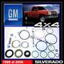 Silverado 4x4 99-06 Kit Cajetín Dirección Original Chevrolet