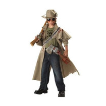 Disfraz De Cazador Zombie Para Niño Talla M